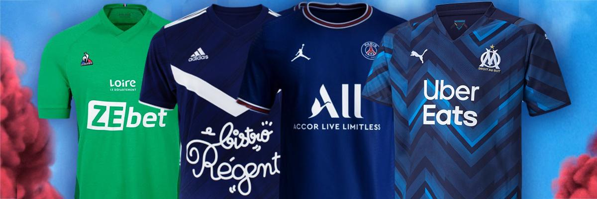 Les plus beaux maillots de Ligue 1