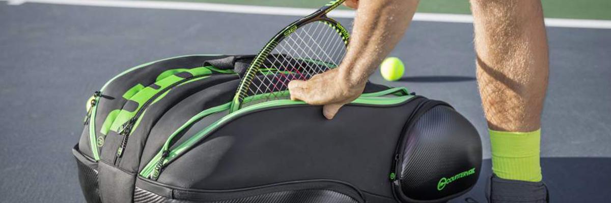 Tennis : à quoi ça sert d'avoir un « thermobag » ?