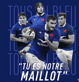 Le Coq Sportif, la marque du XV de France