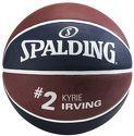 SPALDING-Ballon De Basket Accessoires Nba Player Kyrie Irving T.7