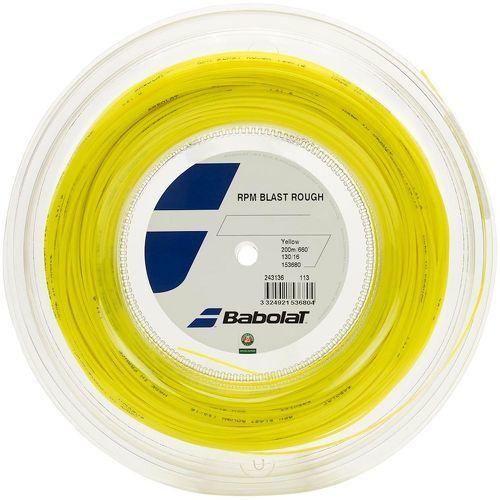 BABOLAT-Bobine Babolat RPM Blast Rough Jaune 200m-image-1