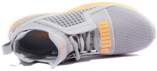 Ignite Limitless Homme Chaussures Gris Orange Puma