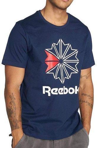 Tee shirt Homme Marine Reebok