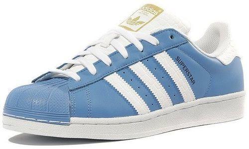 Adidas Chaussures Superstar Bleu Homme -