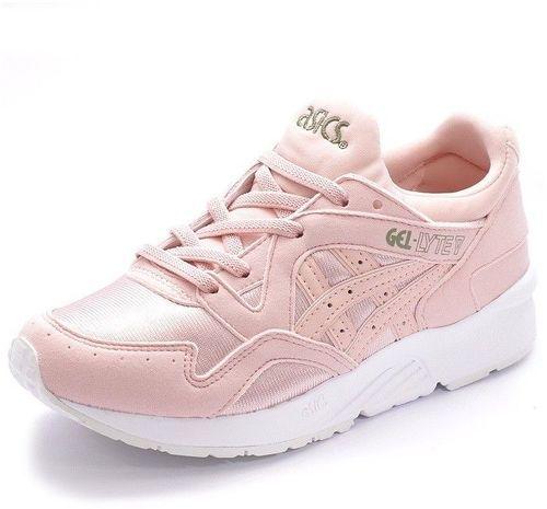 asics chaussure rose