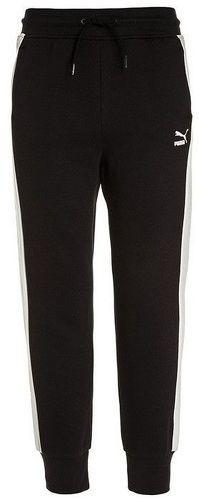 56b71dfcbecdd PUMA-Pantalon Sweat Sport Noir Fille Puma-image-1 ...