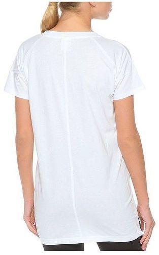 Colizey Femme Tennis Al5j4r Blanc Reebok Shirt Long Tee eWCxordB
