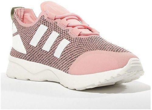grand choix de 8d661 f6e88 Chaussures ZX Flux ADV Verve Rose Femme Adidas