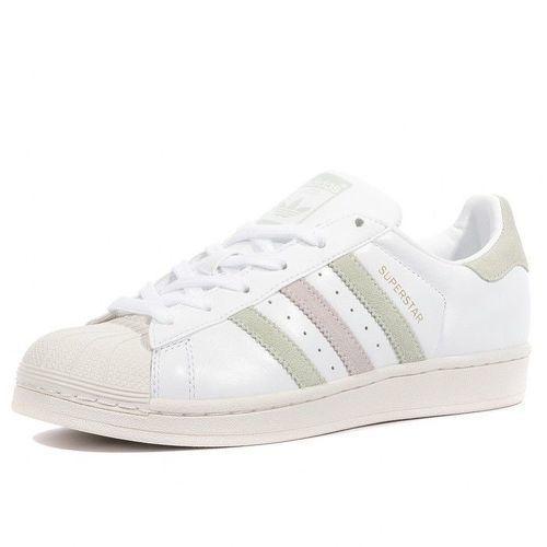 Adidas Superstar Femme Chaussures Blanc -