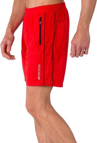 BodyCROSS Short Running 2 en 1 Onder Jaune Fluo