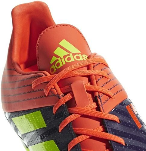 Chaussure Rugby Moulée Malice Noir Orange Adidas