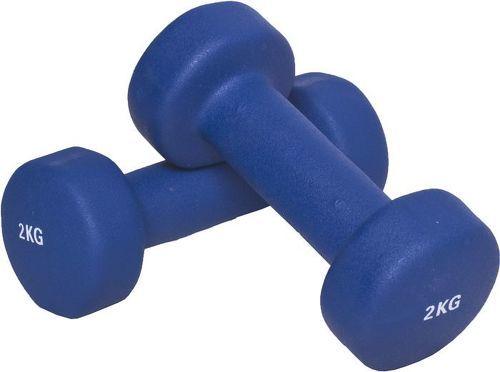 GORILLA SPORTS-1 KG (2x0,5) à 10kg (2x5,0) Haltères fitness en vinyle-image-1