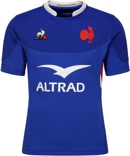 LE COQ SPORTIF-Ffrance rugby maillot bleu-image-1