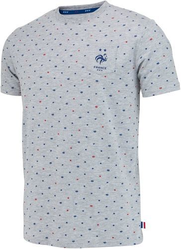 FFF-T-shirt FFF - Collection officielle Equipe de France de Football - Taille enfant garçon 4 ans-image-1