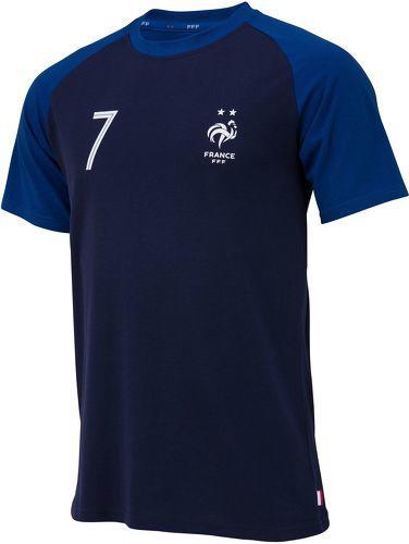 Champion du Monde 2018 Equipe de FRANCE de football T-Shirt FFF Collection Officielle Taille Enfant