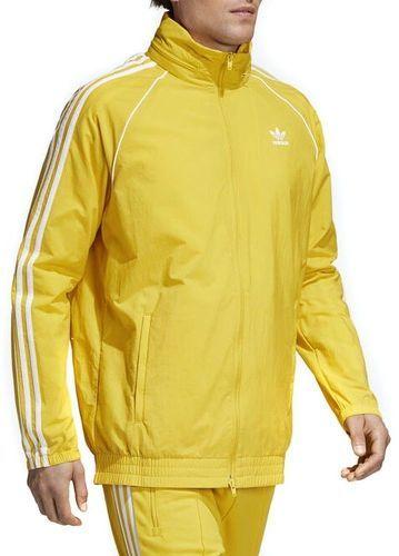 adidas sweat jaune homme