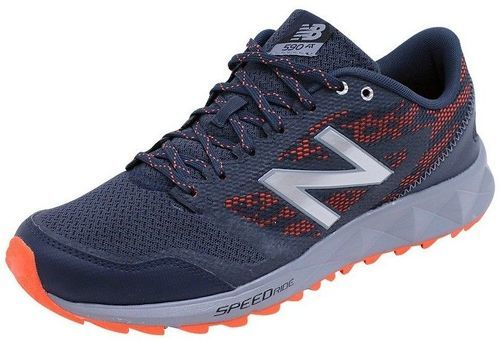 NEW BALANCE-Chaussures Gris MT590 V2 Trail/Running Homme New Balance-image-1