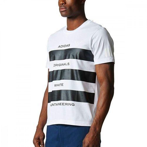 T shirt WM AOWM Blanc Homme Adidas Originals