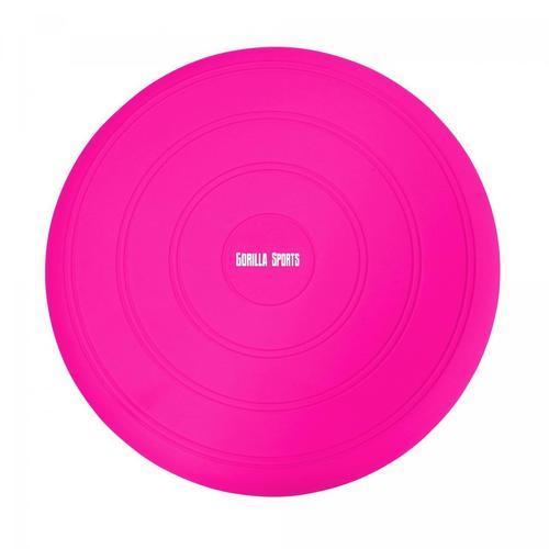 GORILLA SPORTS-Coussin d'équilibre gonflable Ø 33 cm - 9 coloris-image-1