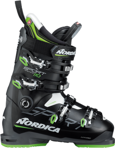 NORDICA-CHAUSSURES NORDICA SPORTMACHINE 110 BLACK/GREY 2020-image-1