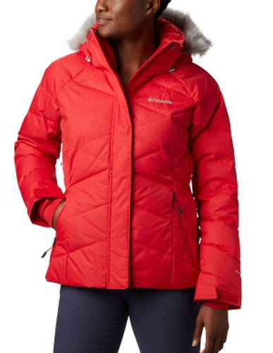 Columbia-COLUMBIA LAY D DOWN II JKT RED LILY VESTE 2020-image-1