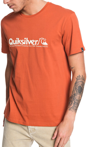 QUIKSILVER-T-Shirt Orange Homme Quiksilver MODERN LEGENDS-image-1