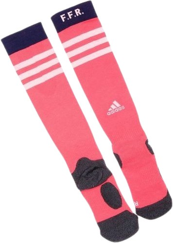 ADIDAS-FFR Chaussettes de Rugby Rouge Homme Adidas-image-1