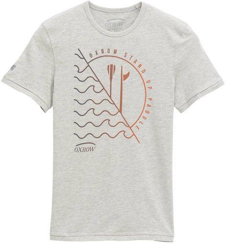 Oxbow-Tee-Shirt TALEZ - Gris Chiné-image-1