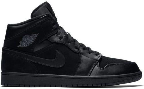 Chaussure Air Jordan 1 Mid Noir pour homme