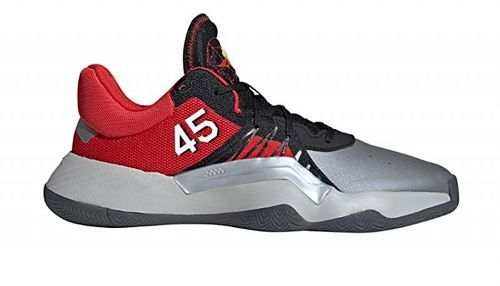 "ADIDAS-Chaussure de Basketball adidas D.O.N. Issue 1 ""MLK Day"" Rouge pour homme-image-1"