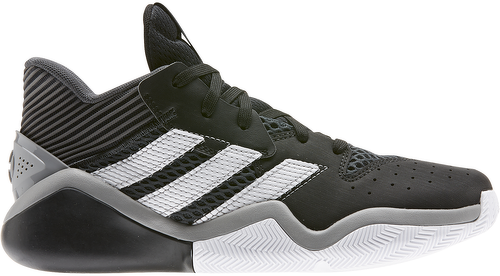 ADIDAS-Chaussure de Basketball adidas James Harden Stepback Noir pour Junior-image-1