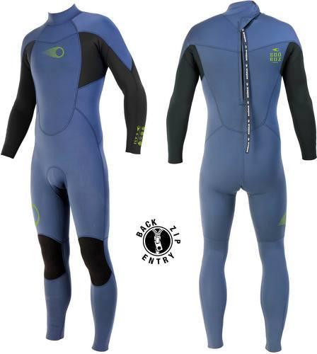 Soöruz Surfwear-Combinaison FLY 3/2 Back-Zip jr-image-2
