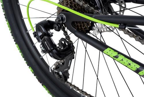 KS Cycling-VTT Tout Suspendu 26'' Bliss Pro noir-vert TC 46 cm KS Cycling-image-3