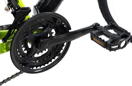 KS Cycling-VTT tout suspendu 26'' Zodiac noir-vert TC 48 cm KS Cycling-image-2