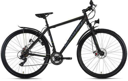 KS Cycling-VTT semi-rigide ATB Twentyniner 29'' Heist noir TC 51 cm KS Cycling-image-1