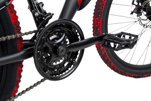 KS Cycling-VTT Tout Suspendu 26'' Bliss Pro noir-rouge TC 46 cm KS Cycling-image-2