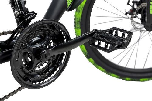 KS Cycling-VTT Tout Suspendu 26'' Bliss Pro noir-vert TC 46 cm KS Cycling-image-2