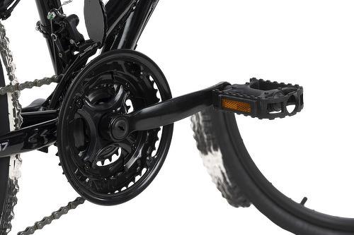 KS Cycling-VTT tout suspendu 26'' Crusher noir-blanc TC 44 cm KS Cycling-image-2