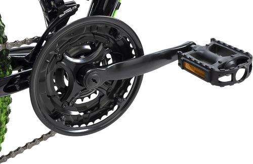 KS Cycling-VTT tout suspendu 26'' Crusher noir-vert TC 44 cm KS Cycling-image-2