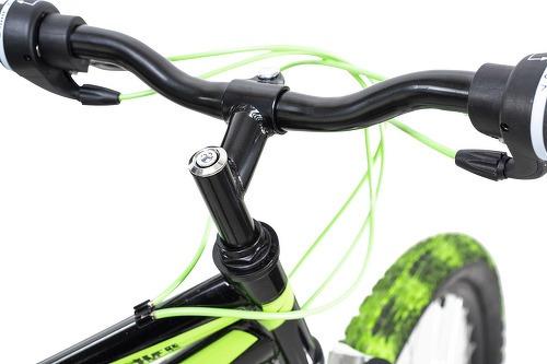 KS Cycling-VTT tout suspendu 26'' Crusher noir-vert TC 44 cm KS Cycling-image-5