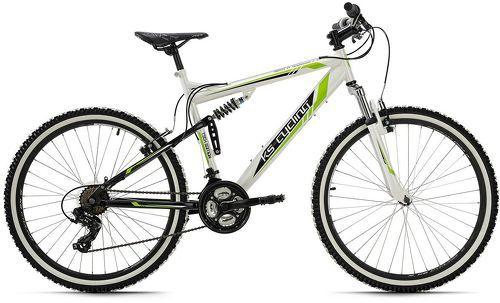 KS Cycling-VTT tout suspendu 26'' Scrawler blanc TC 51 cm KS Cycling-image-1