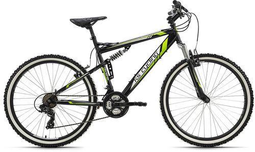 KS Cycling-VTT tout suspendu 26'' Scrawler noir TC 51 cm KS Cycling-image-1