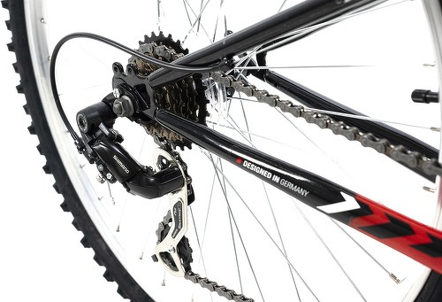 KS Cycling-VTT tout suspendu 26'' Zodiac blanc-rouge TC 48 cm KS Cycling-image-3