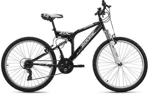 KS Cycling-VTT tout suspendu 26'' Zodiac noir-blanc TC 48 cm KS Cycling-image-1
