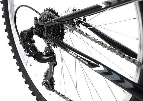 KS Cycling-VTT tout suspendu 26'' Zodiac noir-blanc TC 48 cm KS Cycling-image-3