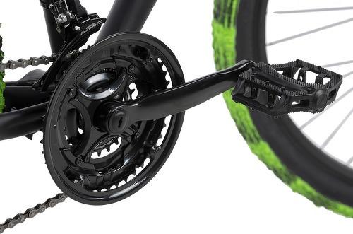 KS Cycling-VTT Tout Suspendu 27,5'' Bliss Pro noir-vert TC 46 cm KS Cycling-image-2