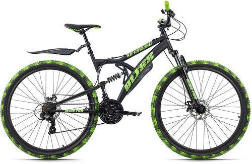 KS Cycling-VTT Tout Suspendu 29'' Bliss Pro noir-vert TC 48 cm KS Cycling-image-1