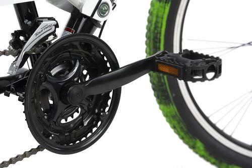 KS Cycling-VTT tout suspendu ATB 26'' Crusher noir-vert TC 46 cm KS Cycling-image-2
