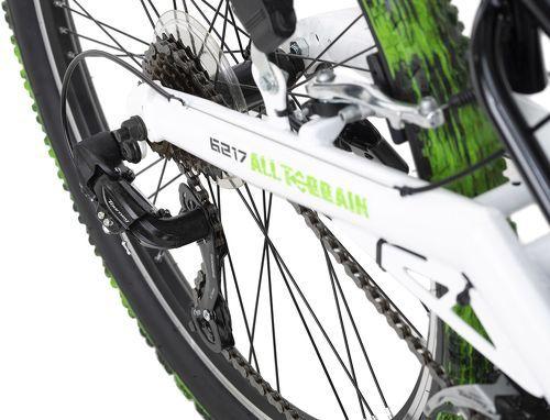KS Cycling-VTT tout suspendu ATB 26'' Crusher noir-vert TC 46 cm KS Cycling-image-3