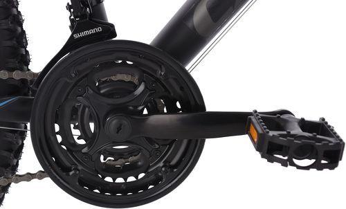 KS Cycling-VTT semi-rigide 26'' Calgary ATB 21 vitesses noir-gris KS Cycling TC 56 cm-image-2
